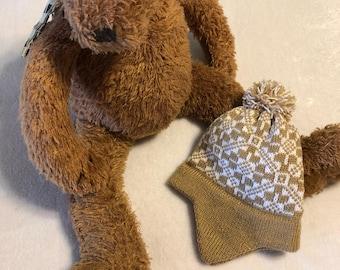 Baby Earflap Beanie, Baby Beanie, Baby Hat, Winter Baby Hat, Baby Stocking Cap, Baby Gift,