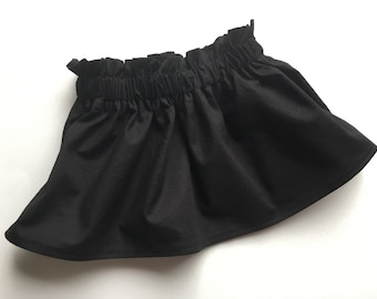 Black Twirl Skirt Newborn / Baby / Toddler