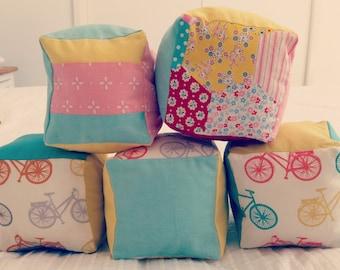 Handmade baby blocks