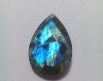 61% OFF SALE Labradorite Pear Shape Faceted Briolette