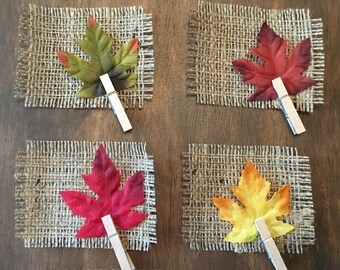 Harvest place cards | Etsy