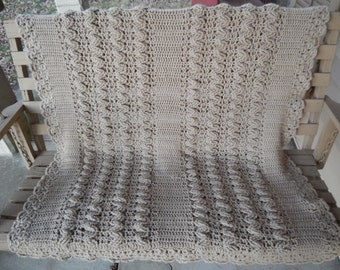 Adorable Crochet Throw!