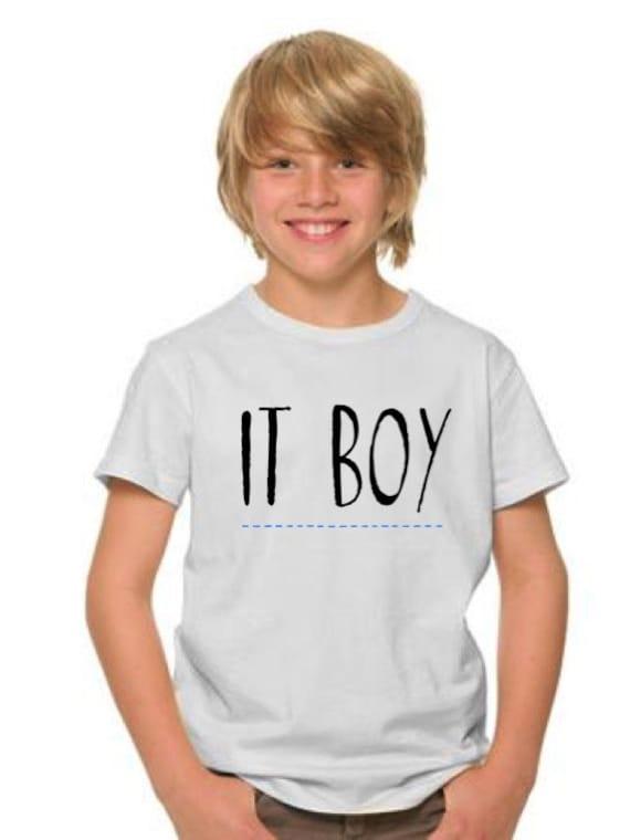 Boy t-shirt or body IT BOY