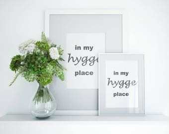 "Scandinavian ""Hygge"" Print"