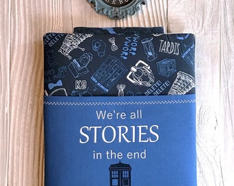 DOCTOR STORIES book sleeve