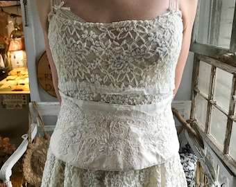 Ivory Pale Corset by Restored By Design