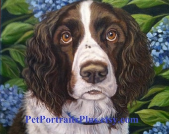 Custom Pet Portrait with special background