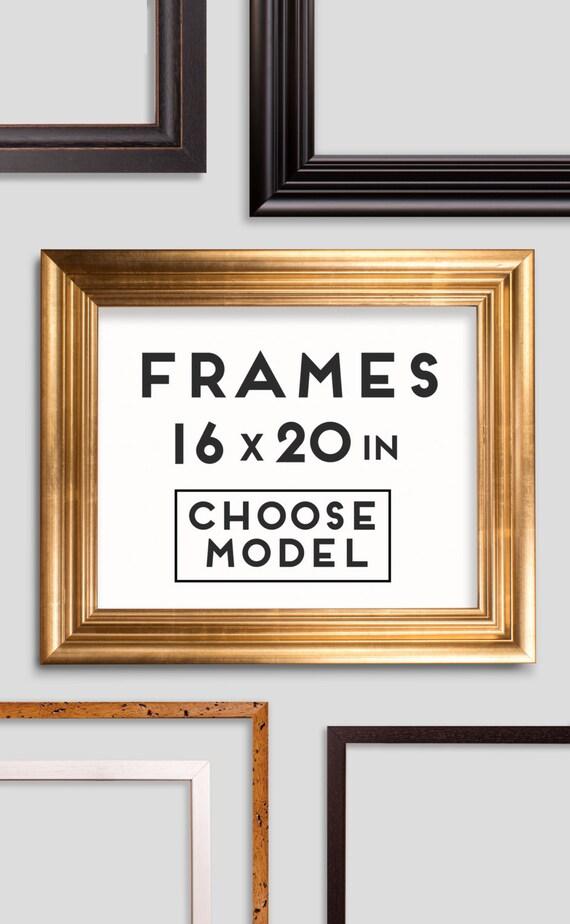 Frames for Prints - 9 models - Choose your frame - Size 16 x 20 ...