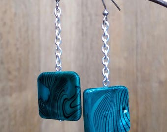 Earrings chic inspired shell beads