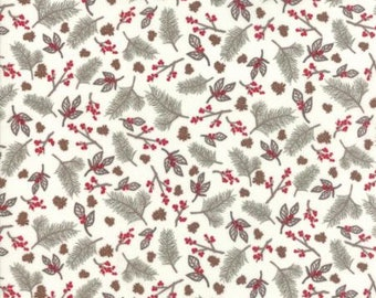 United Notions - Moda- Kate & Birdie Paper Co.- Return Winters Lane- 13171 12-CT122202-100% Quality Cotton by the Yard or Yardage