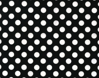 Spot On Black Dots From Robert Kaufman Fabrics - EZC-12872-2