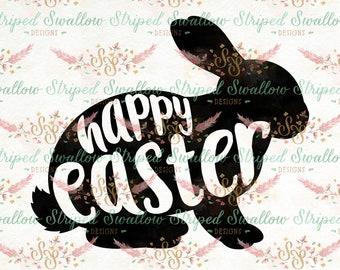 Happy Easter SVG Digital Cut File