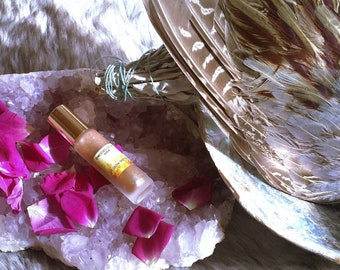 Let Glow shimmer vibrational anointing oil