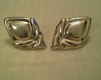 Mexican Stamped Post Earrings