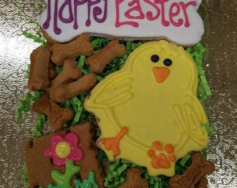 EASTER COOKIE SET for dogs! Adorable! Available in Grain-Free!