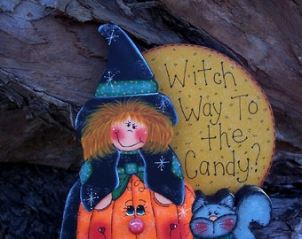 E-PATTERN Kit 916 - Witch Way to the Candy