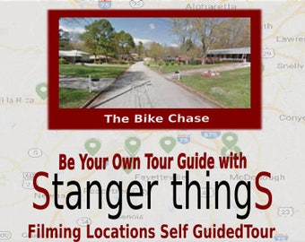 Stranger Things Tour/ Self Guided Film Locations Tour