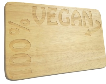 Breakfast Board 100% vegan engraving wood Rubber-breakfast Board-engraveing