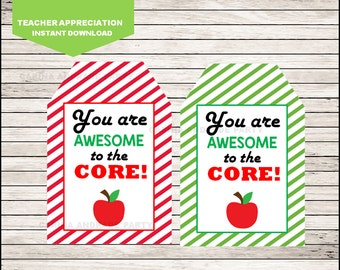Teacher Appreciation Week Gift tags instant download, Teacher Appreciation Gift Tag, Teacher Appreciation cards