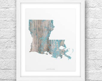 Louisiana Map, Louisiana Print, Louisiana Art, Louisiana State, Louisiana Design, Minimalist Art, Louisiana Printable,Instant Download