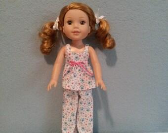 Wellie Wisher doll pajamas