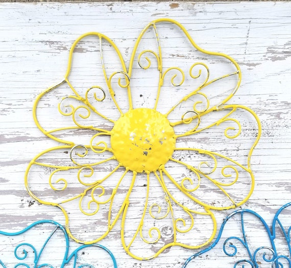 Dorable Wire Flower Wall Art Gallery - Wall Art Design ...