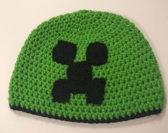 Minecraft Beanie 'Creeper'