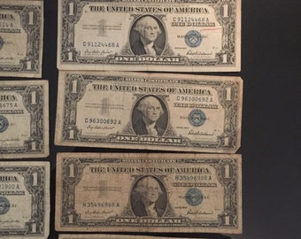 1957 series silver certificates