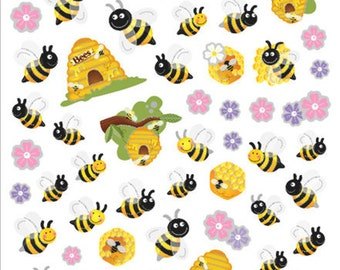 Spring Bees and Hives Sticker (SK4192)