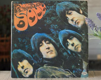 The Beatles - Rubber Soul (Vinyl LP Record, Vintage Vinyl, vinyl records sale, Beatles album, rock record, rock vinyl, Beatles record)