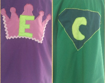 Superhero capes for boys or even little princess girls superhero capes