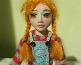 Beverly poseable Doll Ooak