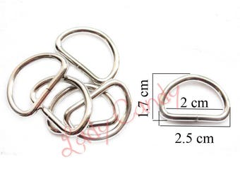 Ring color silver bag cross body strap fastening #330268 10