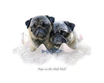 Pugs on the Half Shell