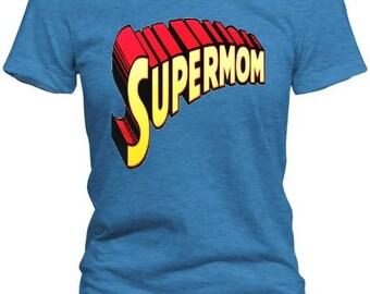 Vintage SUPERMOM T-Shirt