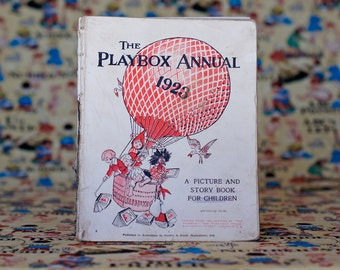 The Playbox Annual 1923 Vintage Children's Book Picture Book Story Book Children's Annual by Gordon & Gotch (Australasia)