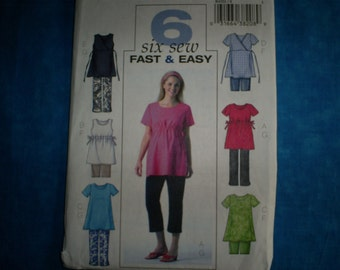 Maternity Butterick 4201 Misses Size 8-10-12. Fast and easy.