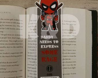Merc with a mouth inspired Bookmark