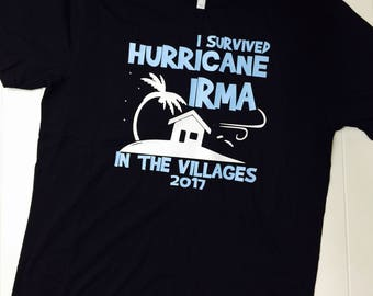 I survived Irma in The Villages Tee