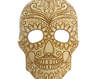 Sugar Skull Ornament - DIA de Los Muertos Ornament - Day of the Dead Ornament -  DIA de Los Muertos Gift - Sugar Skull Decor