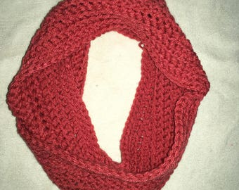 Youth Pink Infinity Scarf