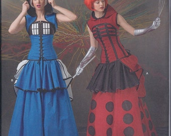 Simplicity 1095 Misses Fantasy Sci-Fi Cos Play Costume UNCUT Sewing Pattern