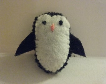 Felt Stuffed Penguin