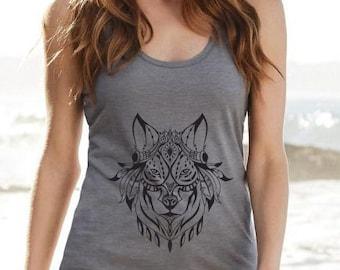 Mottled Grey Wolf colour Singlet