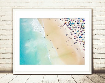 Beach aerial print, Aerial beach photo,beach art print,coastal photography,aerial beach print,coastal decor,sea prints,sea photography