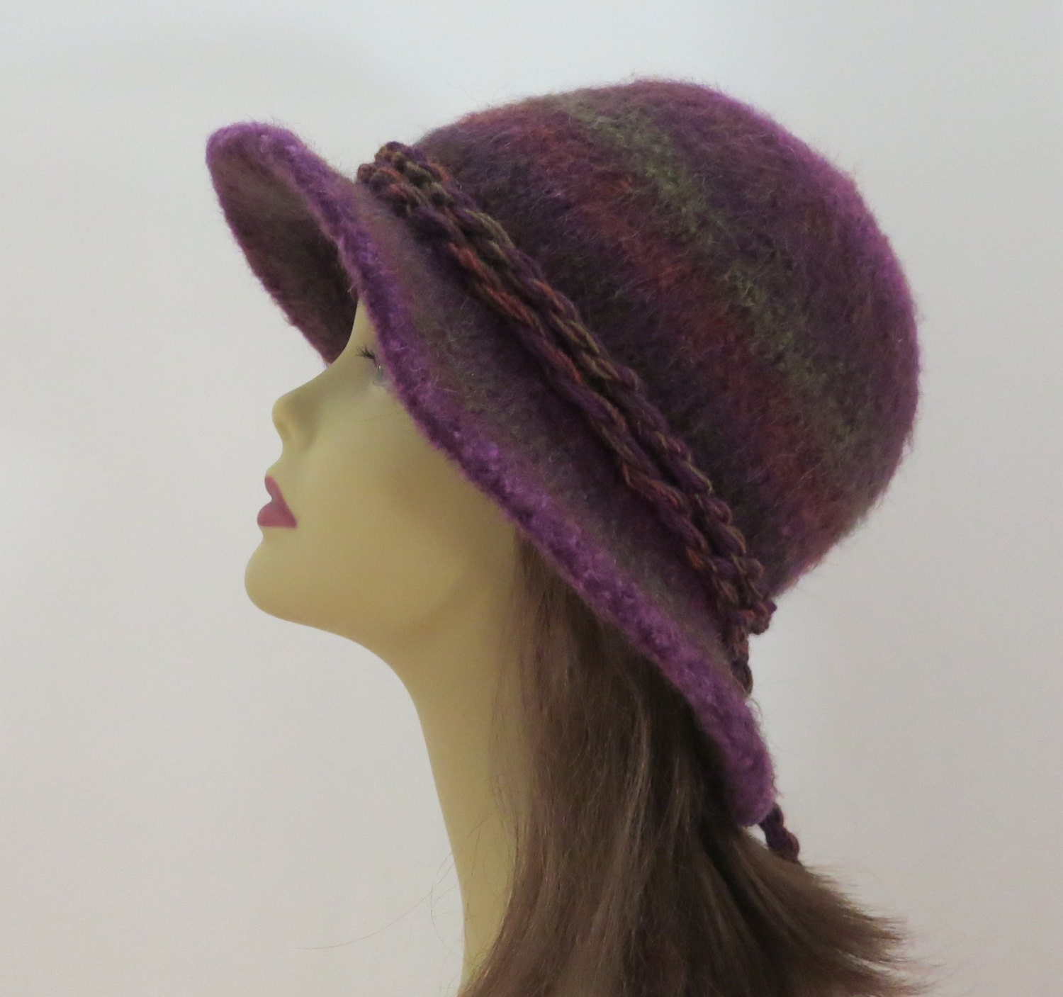 Attractive Flat Knit Hat Pattern Image Collection - Sewing Pattern ...
