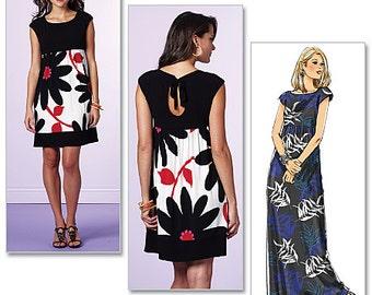 Butterick Sewing Pattern B5456 Misses'/Misses' Petite Dress