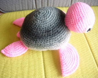 "10"" Grey / Pink  TURTLE"