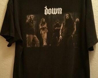 Down Tshirt Band Members on Front