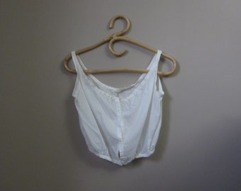 1910s antique edwardian cotton camisole